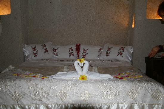 Gamirasu Cave Hotel: my friends' room
