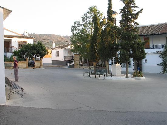 Casa La Celada: La Celada village square