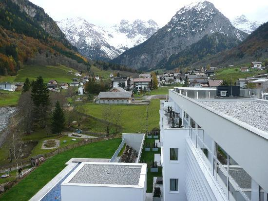 Brand, Österreich: View from the spa