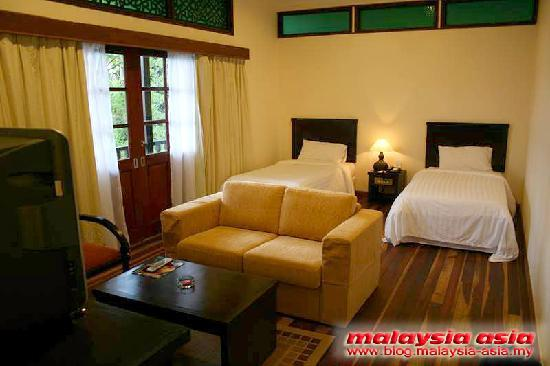 Kuala Berang, Malaysia: Chalet/room view