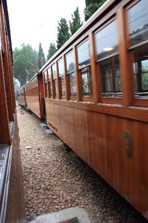 Sóller, España: The Soller train