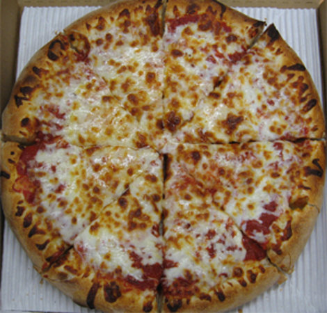 Munchies Pizza: Cheese only