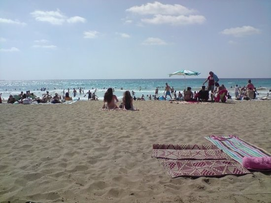 Marbella, Hiszpania: chilling on the beach :D