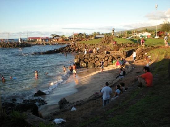 Hanga Roa Beach Picture Of Hanga Roa Easter Island