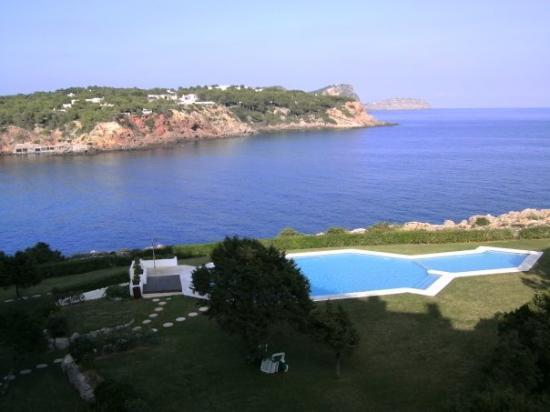 Es Canar, Spanien: desde la terraza