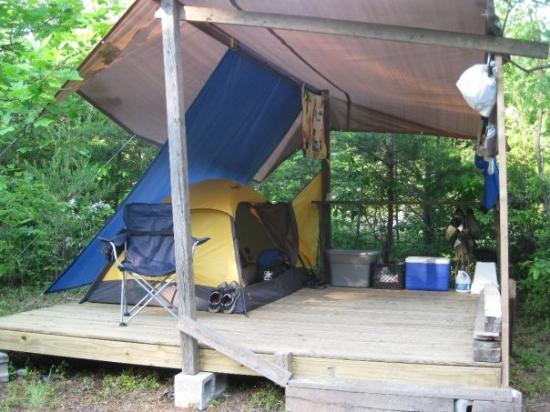 Minden, WV: My shack that i lived in for 3.5 months