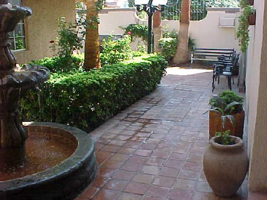 Ciudad Juarez, Mexico: inner garden
