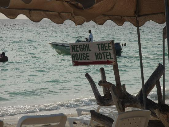 Negril Tree House Resort: Gotta Love All the Sign's