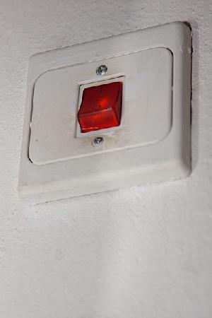 Avissar House: Greasy Switchplate