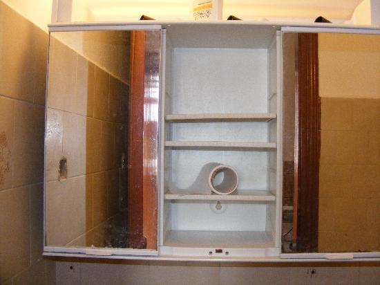 Adam's Studios: The broken bathroom cupboard