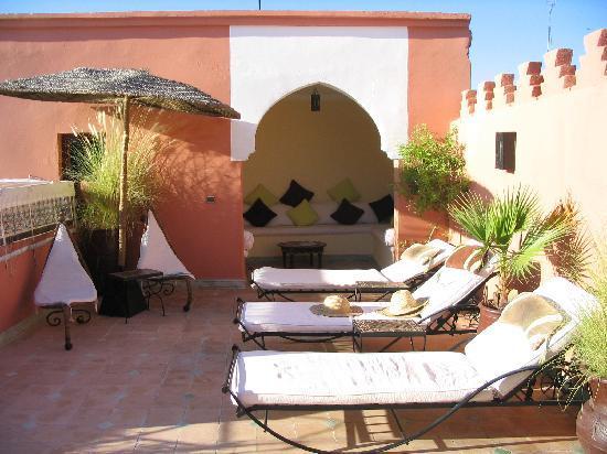 Riad Les Jardins Mandaline: Le solarium des Jardins de Mandaline