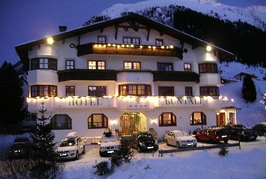 Galtür, Αυστρία: Hotel Buntali in winter