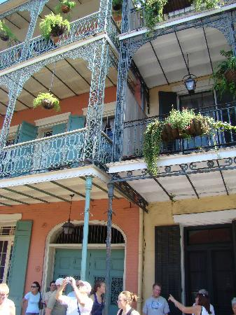 Nouvelle-Orléans, Louisiane : French Quarter Style Architecture