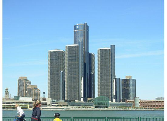 Detroit Marriott At The Renaissance Center Hotel From Windsor
