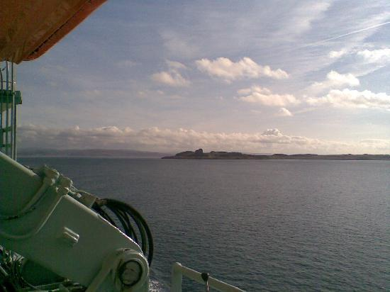 Copeland House : On the boat to Mull