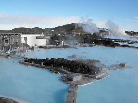 Reykjavik, IJsland: The outdoor spa at Blue Lagoon