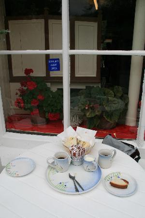 Crookhaven, ไอร์แลนด์: Lunch at a Beara cafe