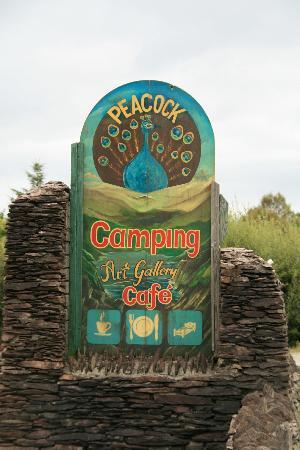 Crookhaven, ไอร์แลนด์: Neat sign on Beara