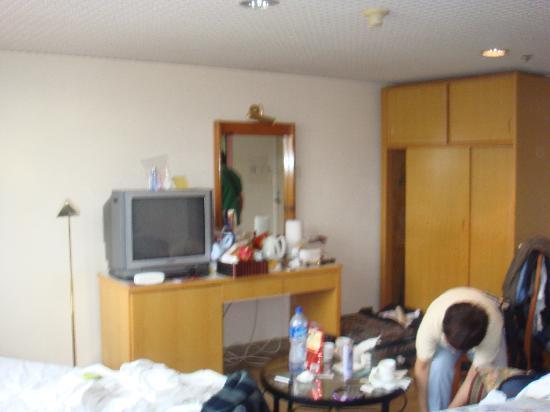 โรงแรมคาริตัส ลอดจ์: living area