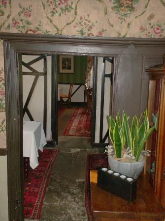 Auberge de la Grenouillere: One of the dining rooms inside the Auberge.