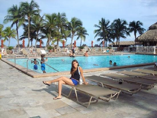 Sunny Isles Beach, FL: by the pool