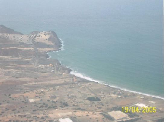 Ihla de Sao Vicente dall'aereoplano