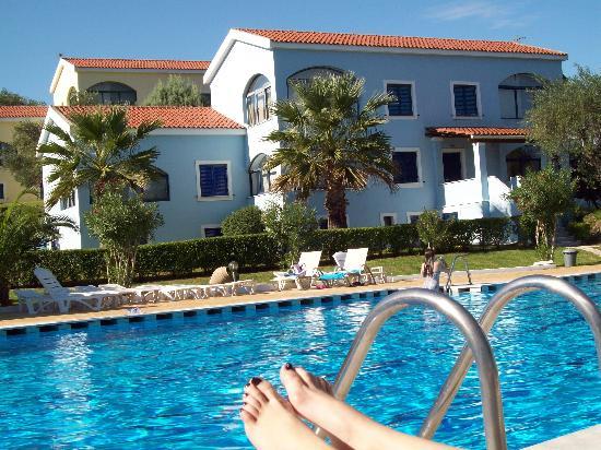 Govino Bay Corfu Pool View