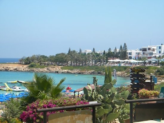 Paralimni, Kıbrıs: View from Fig Tree Bay