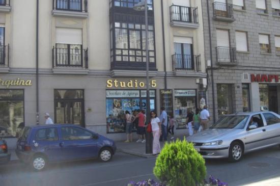 calle centrica de Astorga