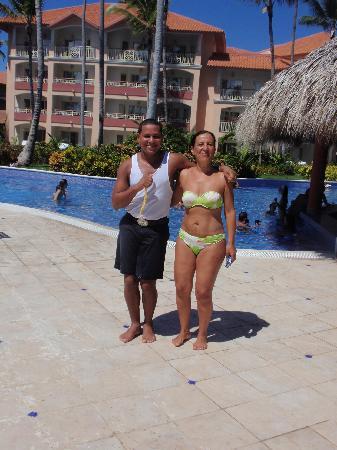 Majestic Elegance Punta Cana: tony, magnifico animador