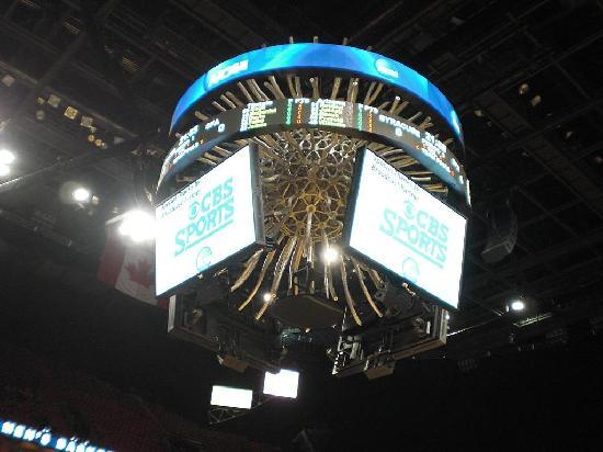 American Airlines Arena : scoreboard