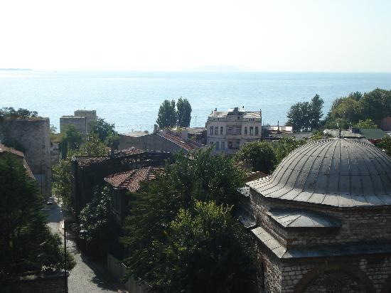 Megara Palace Hotel: View from our balcony at Megara