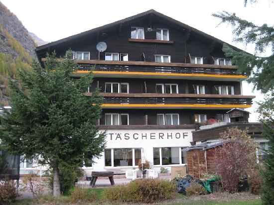 Typically Swiss Hotel Taescherhof : Back of Hotel