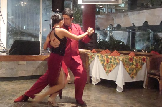 Hotel Venetur Alba Caracas: noche de tango