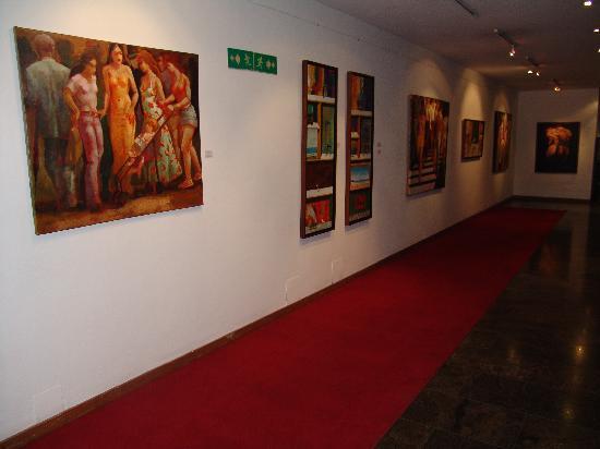 Hotel Venetur Alba Caracas: espacios atractivos con arte