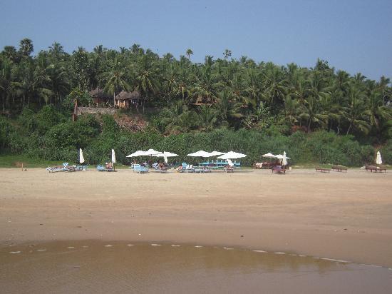 The Travancore Heritage Beach Resort: Private beach cove