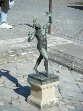 Casa del Fauno: The Faun from the House of the Faun, Pompeii