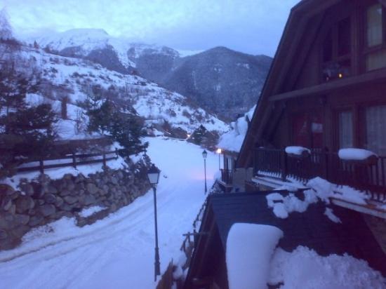 Вьелья, Испания: Vista desde una ventana del hotel
