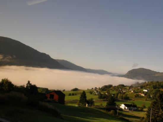 Balestrand, Norway: on the way to Jostedal Glacier