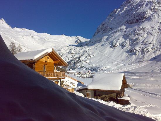 Wieshof: dopo un metro di neve fresca dalla finestra della stanza