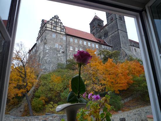 Hotel Domschatz : Ausblick vom Zimmer