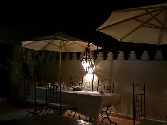 Riad le Clos des Arts: terrazza
