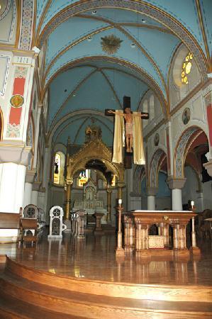 Assumption Abbey: interior