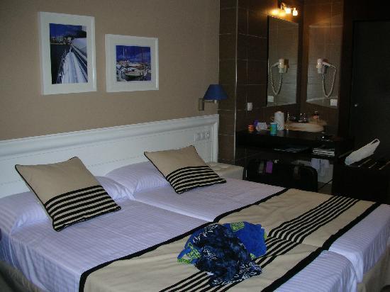 Hotel Best Terramarina : the delux room