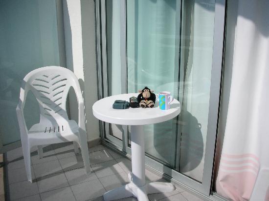 Hotel Best Terramarina : good space on the balcony