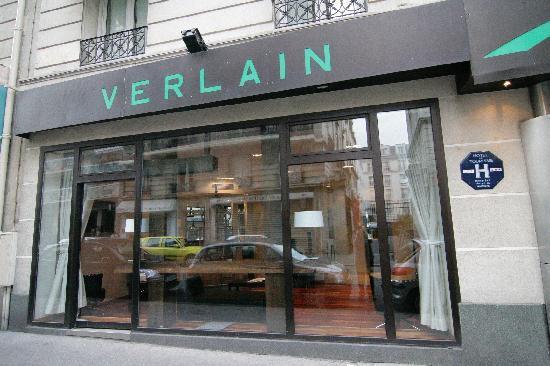 Hotel Verlain  Rue Saint Maur Paris