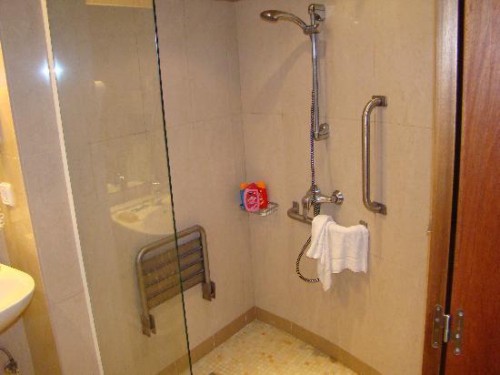 Grand Palladium Palace Ibiza Resort & Spa: Disabled accomodation shower