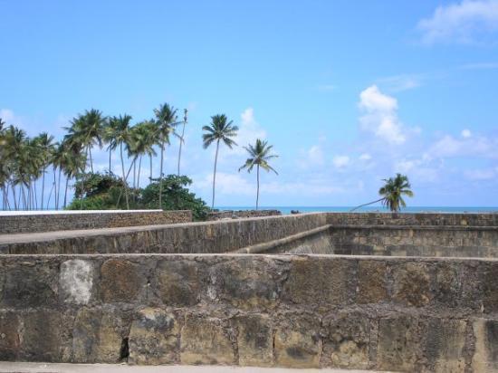 Ilha de Itamaracá, PE: na cima do forte