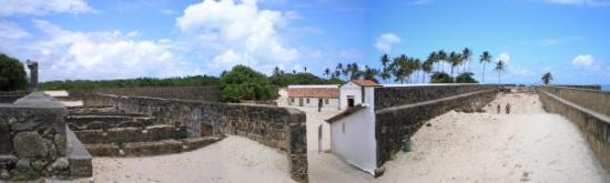 Ilha de Itamaracá, PE: Forte Orange dalla cima