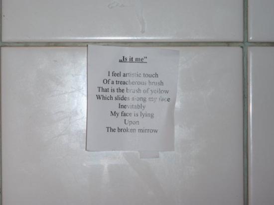 Bathroom Poetry Picture Of Portobello Gold London TripAdvisor - Bathroom poetry